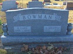 Mary Mildred <I>Dark</I> Bowman