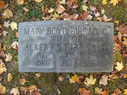 Mary <I>Boyd</I> Birdsong