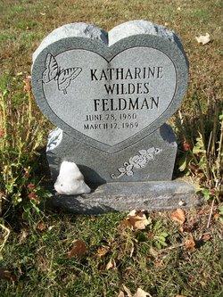 Katharine <I>Wildes</I> Feldman