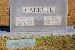 Annie J <I>Hobby</I> Carroll