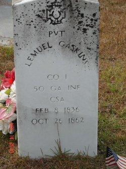Pvt Lemuel Gaskins