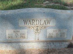 Lily Maude <I>Rowland</I> Wardlaw