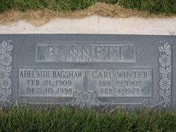 Adelaide <I>Bagshaw</I> Bennett