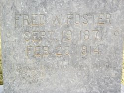 Fred W Foster
