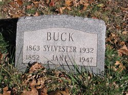 Elizabeth Jane <I>Ridge</I> Buck