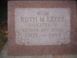 Ruth M <I>Hahnen</I> Keefe