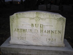 "Arthur D ""Bud"" Hahnen"
