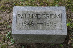 Pauline <I>Hugg</I> Briem