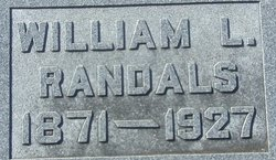william lowery randals 1871 1927 find a grave memorial