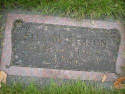 Ella May <I>Dement</I> Carson