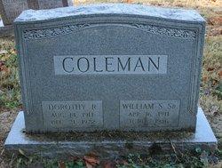 Dorothy R. <I>Rogers</I> Coleman