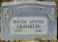 Maude <I>Moore</I> Franklin