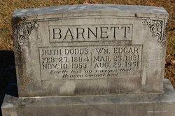 Ruth <I>Dodds</I> Barnett