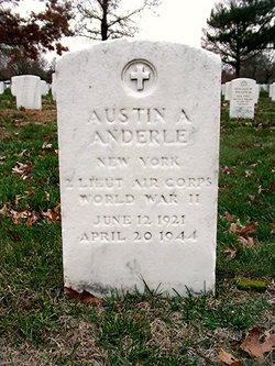 2LT Austin A Anderle
