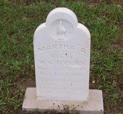 Martha A <I>Croaker</I> Dyess
