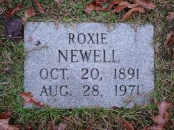 Roxie <I>Collier</I> Newell