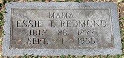 """Estella T """"Essie"""" <I>Shafer</I> Redmond"""