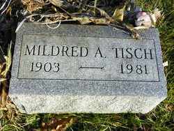Mildred A <I>Evans</I> Tisch