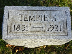 """Temperence Ellen """"Tempie"""" <I>Spellman</I> Walker"""