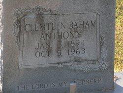 Clemteen <I>Baham</I> Anthony