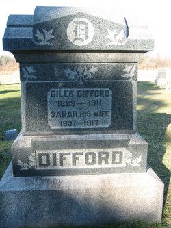 Sarah Ann <I>Loveland</I> Difford