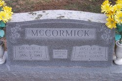 Gracie L. <I>Craig</I> McCormick