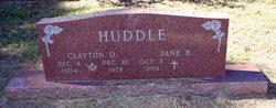 Carrie Jane <I>Brown</I> Huddle