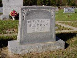 Ruby <I>Wilson</I> Beerman