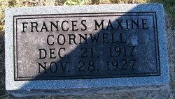 Frances Maxine Cornwell