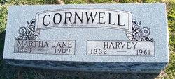 Martha Jane <I>Goldsby</I> Cornwell