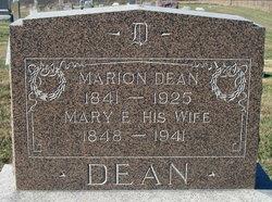 Mary Elizabeth <I>Keith</I> Dean