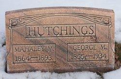 """Mahaley Mary """"Mahala"""" <I>Willden</I> Hutchings"""