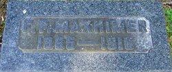 Frank P Maxheimer