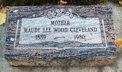 Maude Anna <I>Lee</I> Cleveland