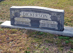 Mildred <I>Wilson</I> Dickerson