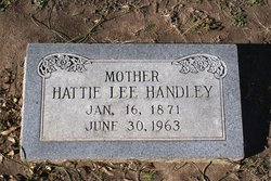 Hattie <I>Lee</I> Handley