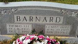 Gladys Hope <I>Bunch</I> Barnard