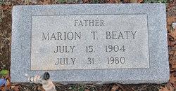 Marion Thomas Beaty, Sr