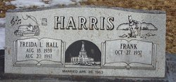 Freida Lurleen <I>Hall</I> Harris