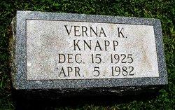 Verna K Knapp