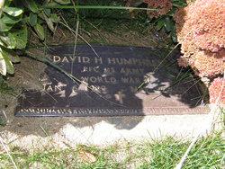 PFC David Harlan Humphress