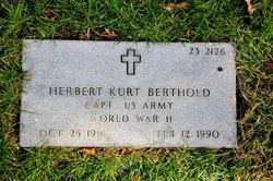 Herbert K Berthold