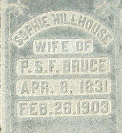 Sophie <I>Hillhouse</I> Bruce