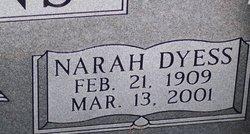 Mary Narah <I>Dyess</I> Evans