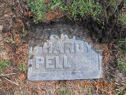 Mary Ann <I>Hardy</I> Pell