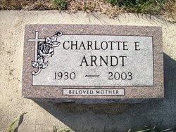 Charlotte Esther <I>Freimuth</I> Arndt