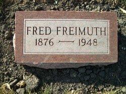 """Frederick W C """"Fred"""" Freimuth"""