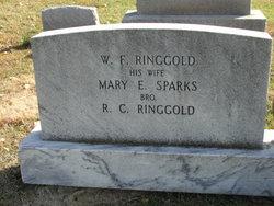 Mary E <I>Sparks</I> Ringgold
