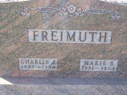"""Charles John """"Charlie"""" Freimuth"""