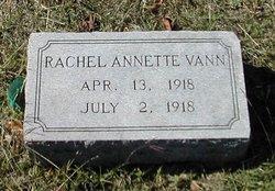 Rachel Annette Vann